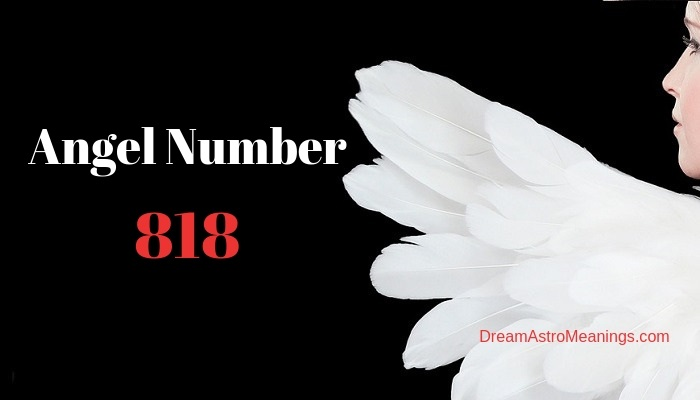 Angel Number 818 – Meaning and Symbolism