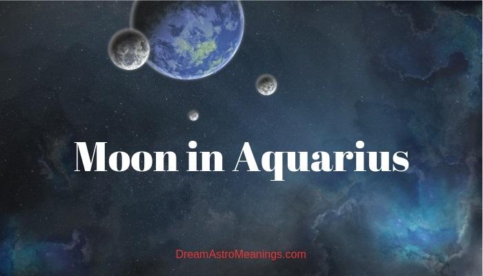 Moon in Aquarius