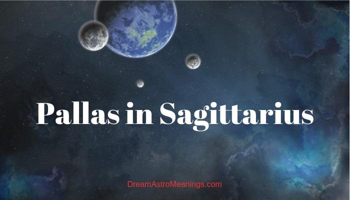 pallas sagittarius astrology