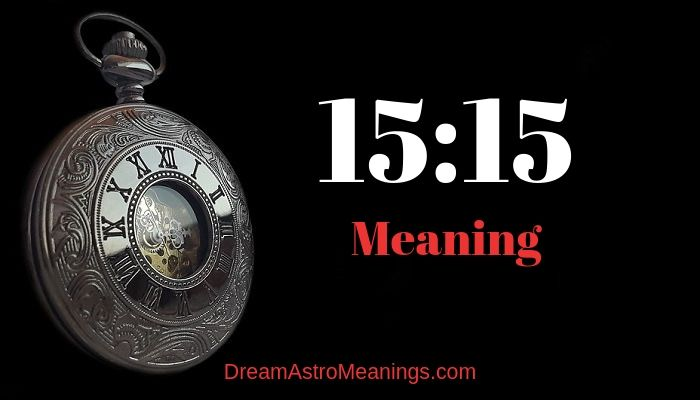 15:15 – Meaning